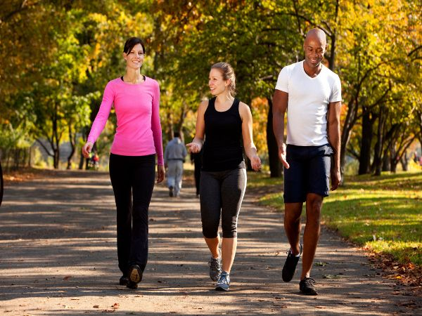 How to lose weight fast with exercise - going for a walk