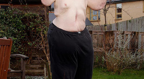 Paul Mason was more confident with his new body. Photo: The Sun