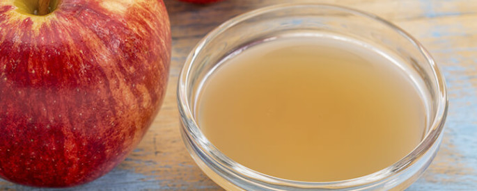 Apple cider vinegar supports effective weight loss.