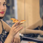 Eating on a mirror reduces the amount of food you eat by 1/3.